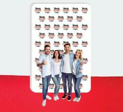 Step And Repeat Fabric Wall Box Display Tradeshow Advertising Display 10and039 X 15and039