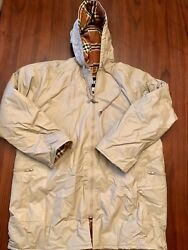 WOMENS TOTES SIZE LARGE LINED RAINCOAT BEIGE $25.20