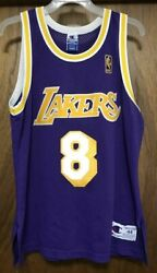 Kobe Bryant 1996-97 Los Angeles Lakers Authentic Rookie Jersey Champion Sz 44