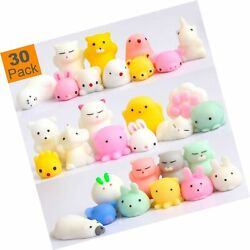 Squishy Toys Party Favors For Kids - Squishys 30 Pack Mini Mochi Squishies, P...