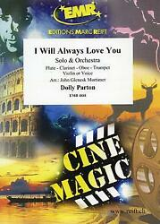 I Will Always Love You Solo Instrument Orchestra Music Set Score And Parts