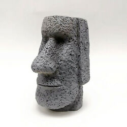 Silicone Mould 3d Statue Face Mold Decorating Baking Tool Easter Island Head Diy
