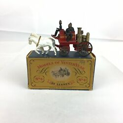 Boxed Matchbox Models Of Yesteryear Shand Mason Horse Drawn Fire Engine Y-4