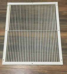 Vintage Wall Air Vent Heat Register Metal Vent Antique Grate Large 32 By 36