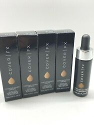 Cover FX Custom Cover Drops Pure Pigment Foundation YOU PICK SHADE BNIB READ $12.50