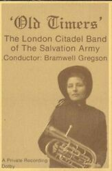 London Citadel Band Of The Salvation Army Old Timers Cassette Tape