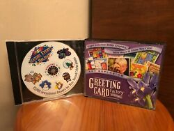 Greeting Card Factory Maker Version 4 Art Explosion Pc Software + Seasons Events