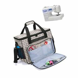 Teamoy Sewing Machine Bag Travel Tote Bag For Most Standard Sewing Machines ...