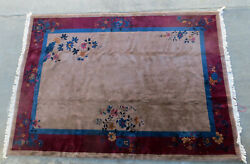 Chinese Art Deco Rug - 13and039 X 9and039