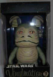 Disney Star Wars Jabba The Hut Vinylmation Figure 9 Inches Limited Ed