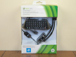 Xbox360 Chatpad With Headset Microsoft Keypad For Controller Brand New