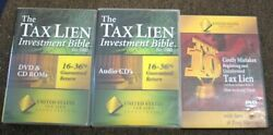 United States Tax Lien Investment Bible Course 2 Dvd 8 Cd 2 Cd-rom Saen Higgins