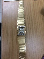 14kt Yellow Gold Swiss Lucerne Diamond Watch And 14kt Band