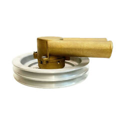 Raw Sea Water Pump Double V Belt Pulley For Volvo Penta 21214596 3858229