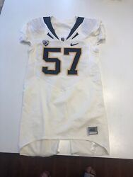 Game Worn Used Nike Cal Golden Bears Football Jersey 57 Size 46