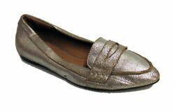 Gee Wawa Womenand039s Distressed Silver Loafer Us 6 Nob