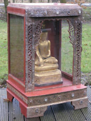 Antique Temple From Burma,