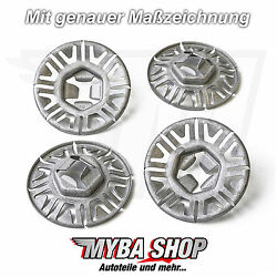 25x Metal Mounting Clip Clamp Washer For Vw Audi Seat Skoda N90796502 New