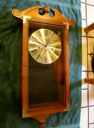Rare Elgin - Welby Wall Clock - Westminster Chimes