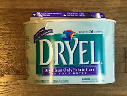 Dryel At Home Dry Cleaning Starter Kit 16 Garments 4 Dryer Loads