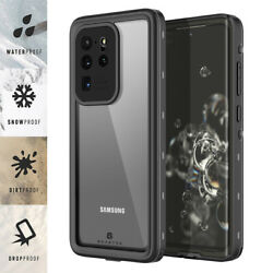 For Samsung Galaxy S20 Plus S20 Ultra 5G Waterproof Case with Screen Protector $16.98