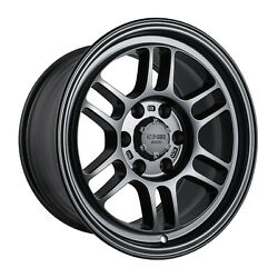 4 17x9 Enkei Rpt1 Gloss Black Wheels 6x135 For 2009-2020 Ford F150 Raptor