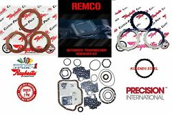 TH400 65 UP TRANSMISSION REBUILT KIT MASTER STAGE 1 RAYBESTOS RED CLUTCHES AND $154.94