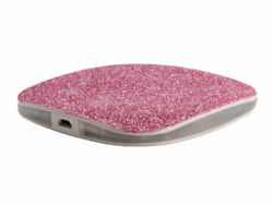 DCI Pink Glitter Wireless Charger
