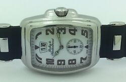Mens Dubey And Schaldenbrand Aquadyn Big Date Stainless Steel Automatic Watch
