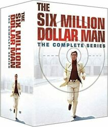 The Six Million Dollar Manthe Complete Series Collection Dvd,33-disc Setnew 6