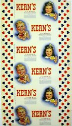 Vintage Bread Wrapper Kerns Boy And Girl Bristol Virginia Knoxville Tennessee