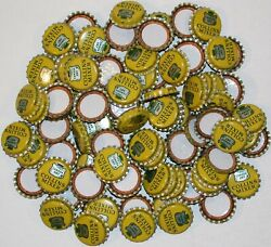 Soda Pop Bottle Caps Lot Of 100 Canada Dry Collins Mixer Cork New Old Stock