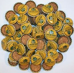 Soda Pop Bottle Caps Lot Of 100 Canada Dry Cream Cork Lined Unused New Old Stock