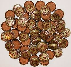 Soda Pop Bottle Caps Lot Of 100 Sun Rise Root Beer 2 Cork Lined New Old Stock
