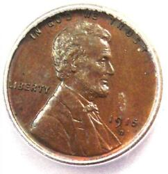 1915-d Lincoln Wheat Cent Penny 1c Coin - Icg Ms65 Gem Bu Unc - 312 Value