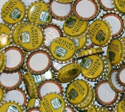 Soda Pop Bottle Caps Lot Of 25 Canada Dry Collins Mixer Cork Lined New Old Stock