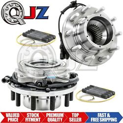 [frontqty2] Wheel Hub Assembly For 2005-2010 Ford F-450 Super Duty 4x4 Drw