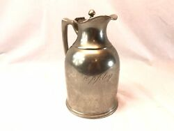 Antique Stanley Insulating Co Dooley Hotels Advertising Pitcher Thermos