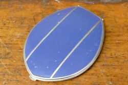 Vintage Elgin American Vanity Push Button Compact Mirror And Lipstick Compartment