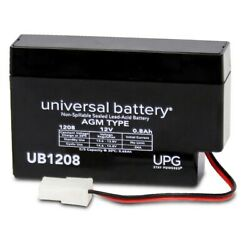 12v 800mah Replacement Battery For Viasys Healthcare T-bird Legacy Ventilator