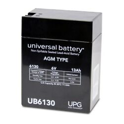 Upg 6v 13ah Replacement Battery For Siemens Medical Systems Lem Portable Xray