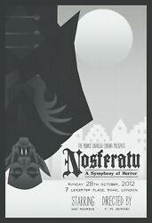 Nosferatu Black Poster reprint mini poster 2 sizes available.