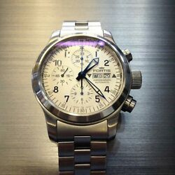 Fortis B-42 Auto Chronograph Day-date ขนาด King Size 42 Mm