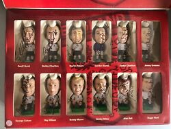 Signed Prostars England 1966 Collectable Figures By 11 Ball Charlton Hurst Banks