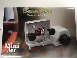 Buon Vino Mini Jet Wine Filter W/2 Sets Of 2 Filter Pads. Not Ship From