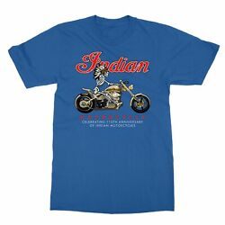 Motorcycle Indian Cool Men#x27;s T Shirt $12.49