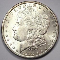 1898-s Morgan Silver Dollar 1 - Excellent Condition - Nice Luster And Feathers