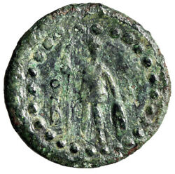 Lycia Oinoanda Ae19 Hermes In Winged Cap And Ares O Over B Very Rare