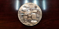Rare Boeing Air Force One 747-2g4b 1990 Delivery Medal