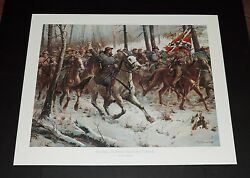Don Troiani - General Nathan Bedford. Forrest - Collectible Civil War Print Mint